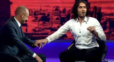Russell Brand: Comedian says he's 'open minded' to 9/11 conspiracy theories during explosive Newsnight interview