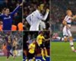 Neymar, Robben, Hazard, Ronaldo or Reus? Vote for the UEFA Champions League Goal of the Week!
