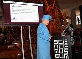 Queen Elizabeth II sends first tweet