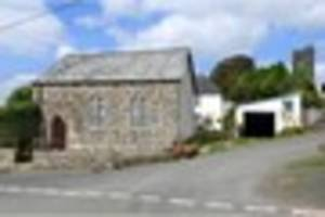 Former chapel goes up for sale in the Devon countryside